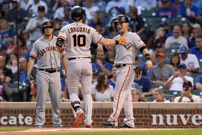 Giants Unable to Keep Up With Slugging Cubs