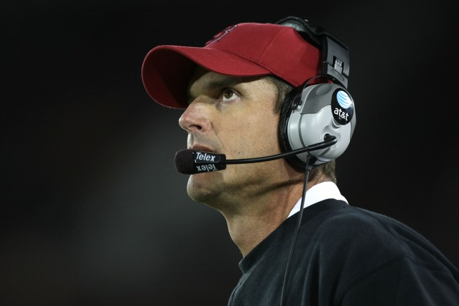 Stanford Says Harbaugh Isn't Going Anywhere