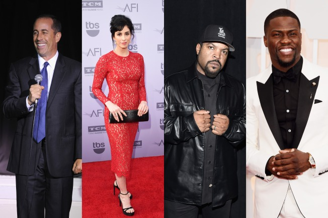 Jerry Seinfield, Kevin Hart, Sarah Silverman, Ice Cube to Headline New Comedy, Music Fest in SF