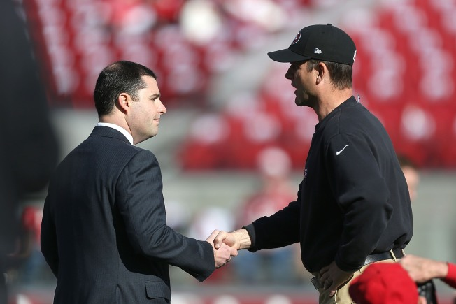Harbaugh Sees 49ers From Afar: 'You Will Reap What You Sow'