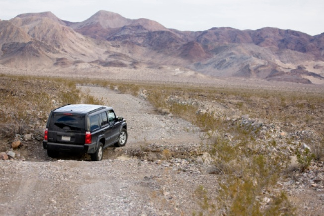 Drive Death Valley via Google Street View