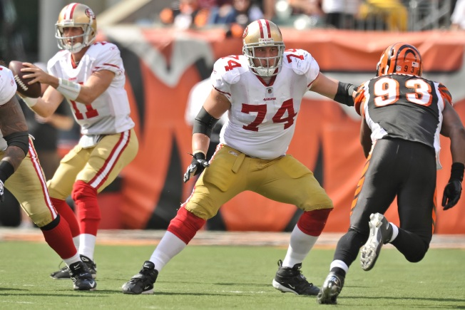 Offensive Line Has Become 49ers' Fab Five