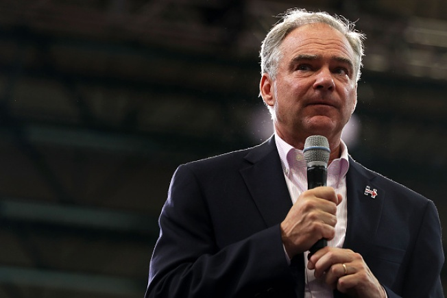 Democratic VP Candidate Tim Kaine in Bay Area for Three Fundraisers