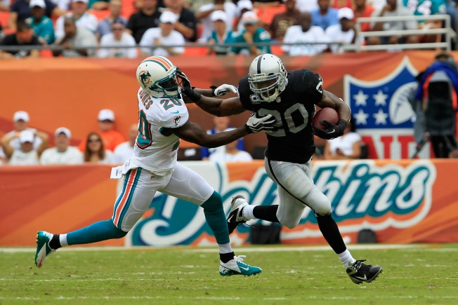Raiders' Running Game Has Slowed to a Crawl