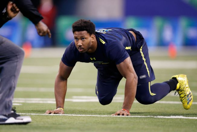 Could Myles Garrett Fall to 49ers at No. 2 in Draft?