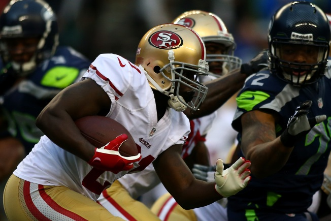 Niners Hope to Get Ground Game Off and Running