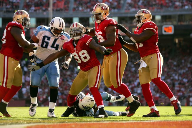 Niners' Linebacking Corps Has Fine Depth