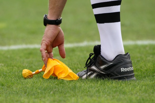 Raiders' Red Flags? Their Yellow Flags