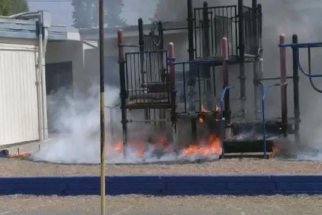 Vallejo Police Offer $1,000 Reward for Information Leading to Arrest of Playground Arsonist