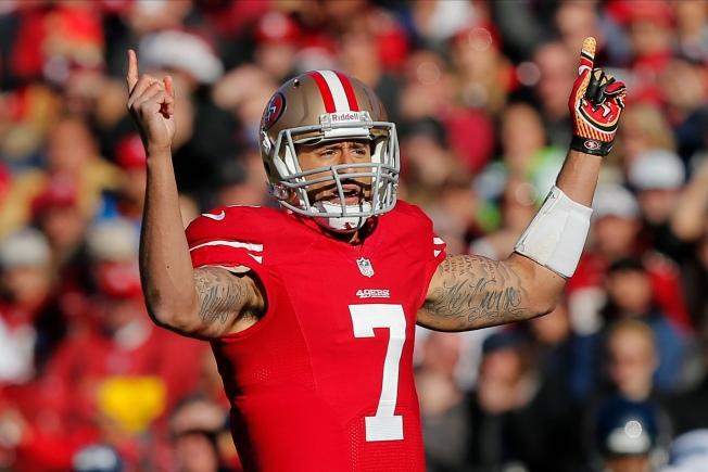 Playing Better vs. Seahawks a Key for Kaepernick to Join NFL Elite QBs