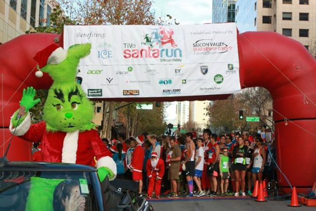 "TiVo ""Santa Run Silicon Valley"""