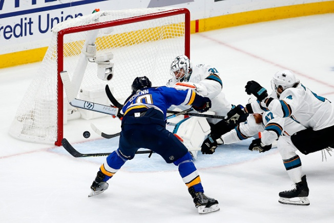 Sharks Eliminated in Game 6 Loss to Blues