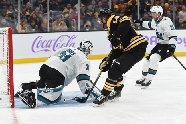 Sharks Outshot, Outplayed in 5-1 Loss to Bruins