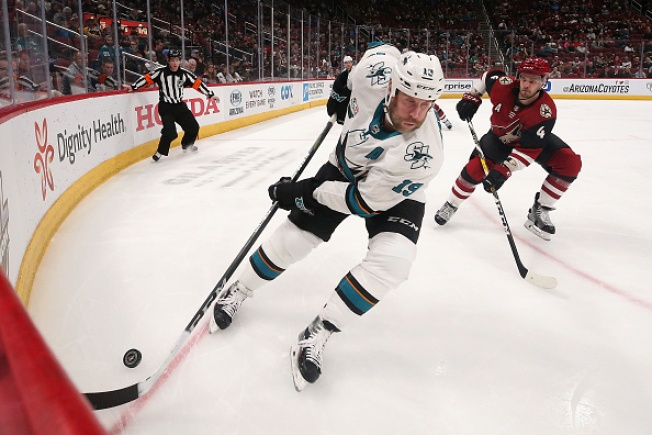 Sharks Win Streak Snapped in 6-3 Loss to Coyotes