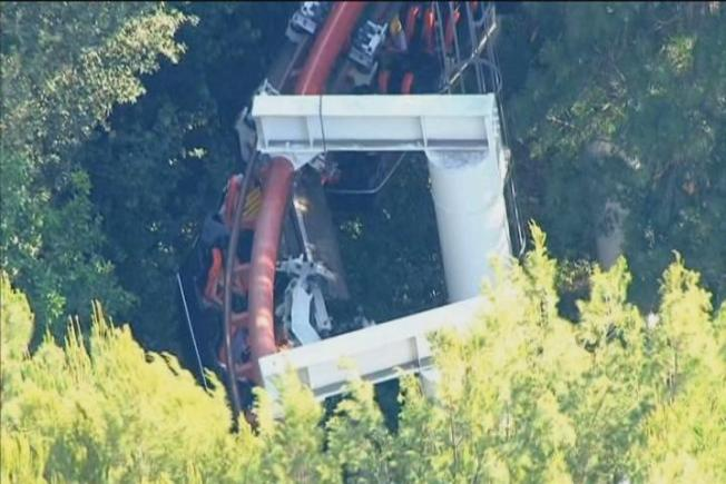 4 Hurt in Los Angeles-Area Roller Coaster Accident at Six Flags Magic Mountain