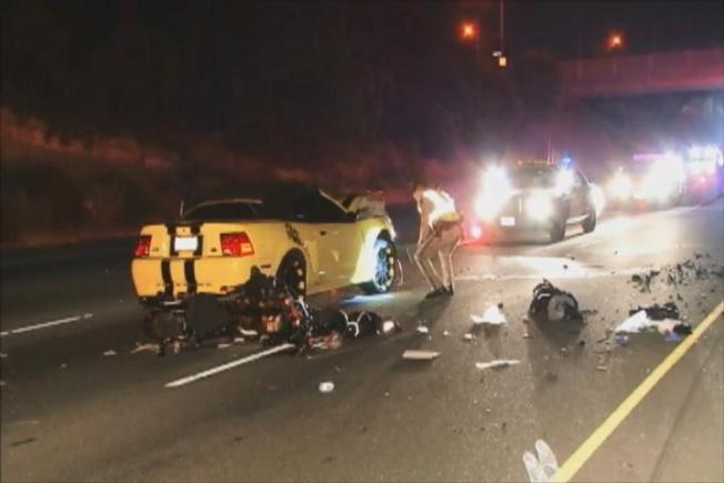 Motorcyclist Seriously Hurt in U.S. 101 San Jose Collision