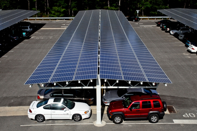The Bay Area is a Solar Carport Hotspot