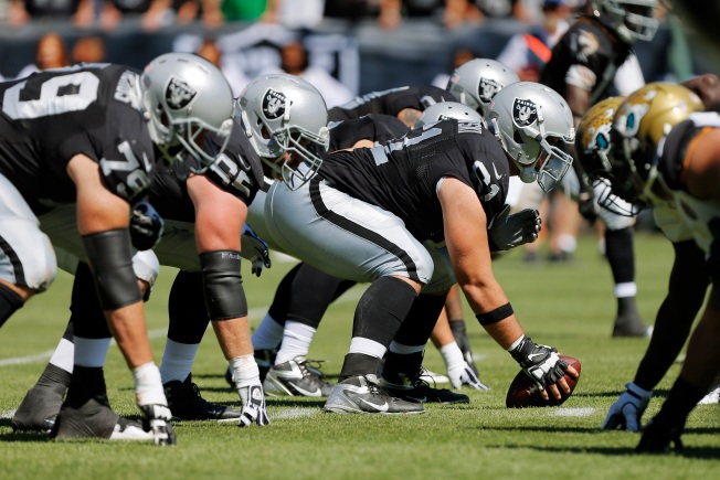 Somehow, Raiders Are Holding the Line