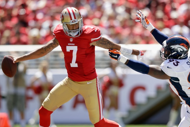 Kaepernick, 49ers Offense, Hoping to Find Rhythm