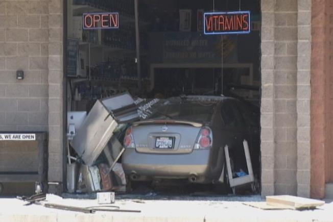 Car Crashes Into Sunnyvale Health Store