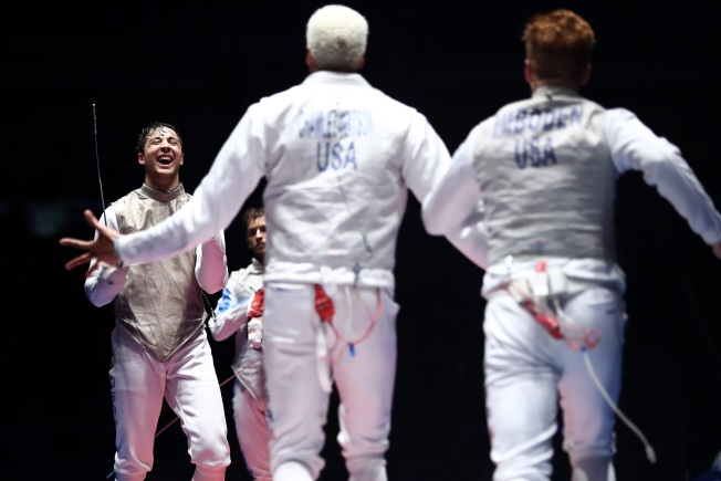 San Francisco Olympic Fencer Honored in Hometown