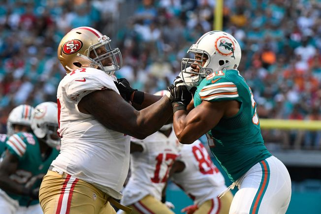 Niners Want to See Tackle Trent Brown Continue to Improve