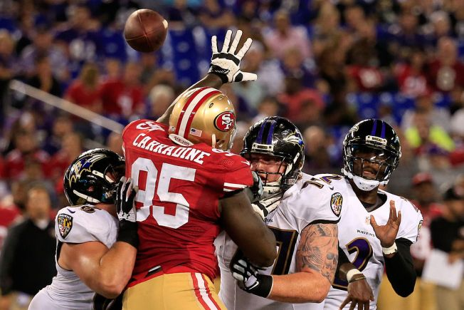 49ers place DL Tank Carradine on injured reserve