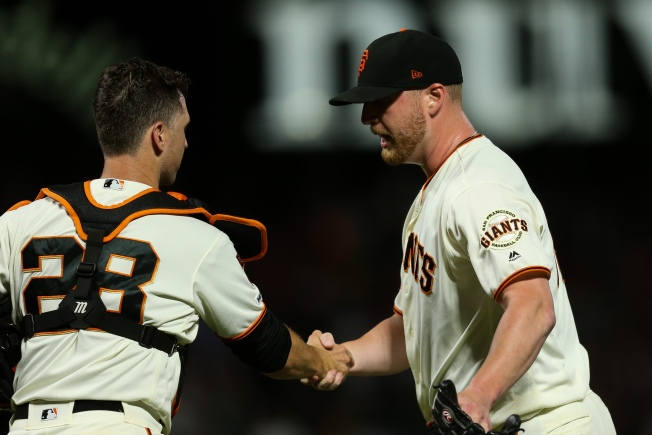 Giants Bring Torture Back in Ninth, Escape With Needed Win Over A's
