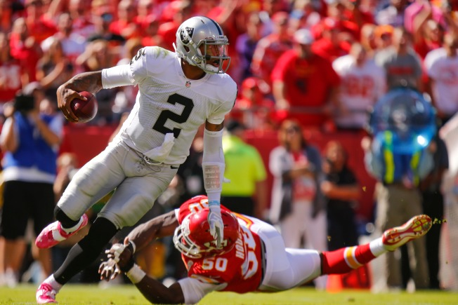 Raiders Wilt in Kansas City