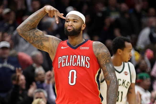new arrivals 5e113 f00bd DeMarcus Cousins Agrees to Deal With Warriors: Report - NBC ...