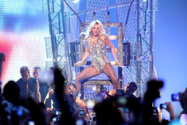 Britney Rocks San Francisco