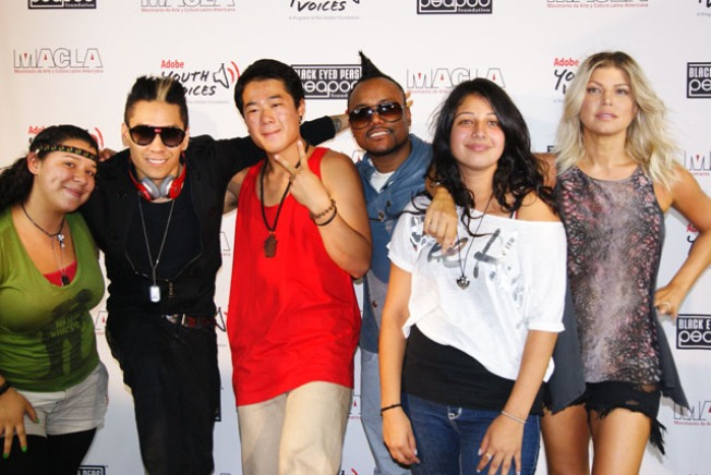 Black Eyed Peas Plant Their Roots in SJ
