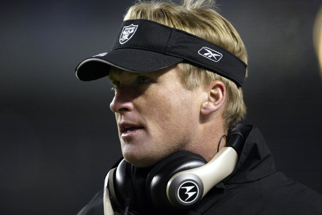 Raiders officially announce hiring of Gruden as coach