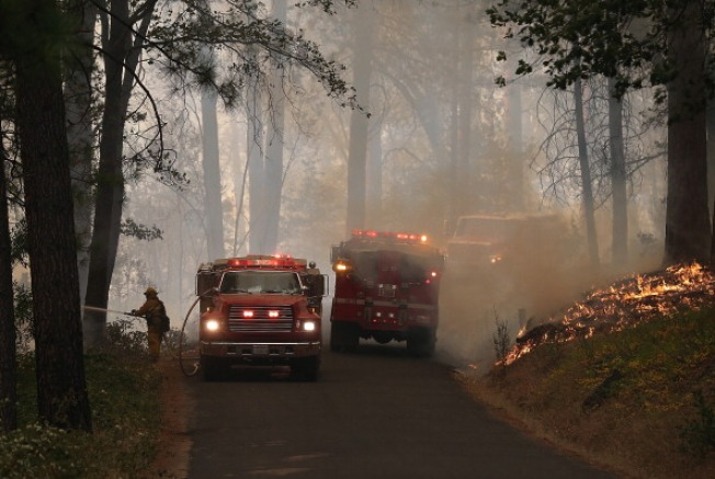 List: Areas Under Voluntary Evacuation Because of Rim Fire