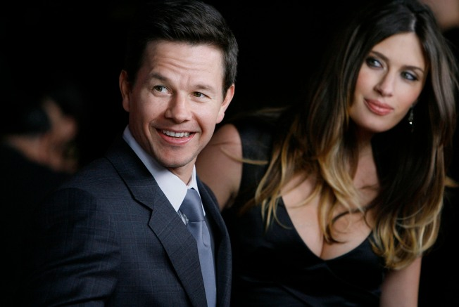 Mark Walhberg Marries In Beverly Hills