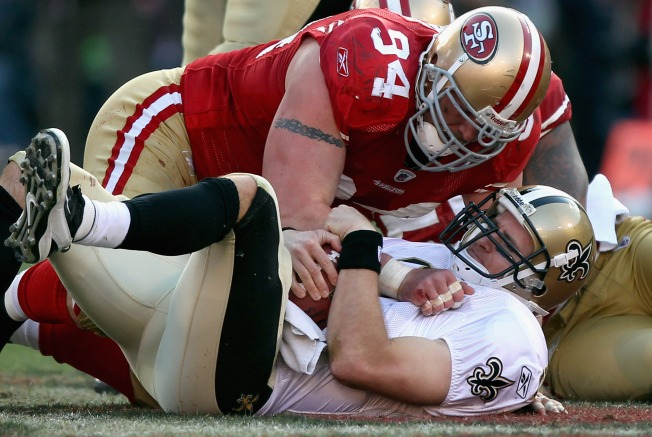 Justin Smith is Pillar of 49ers' Strength