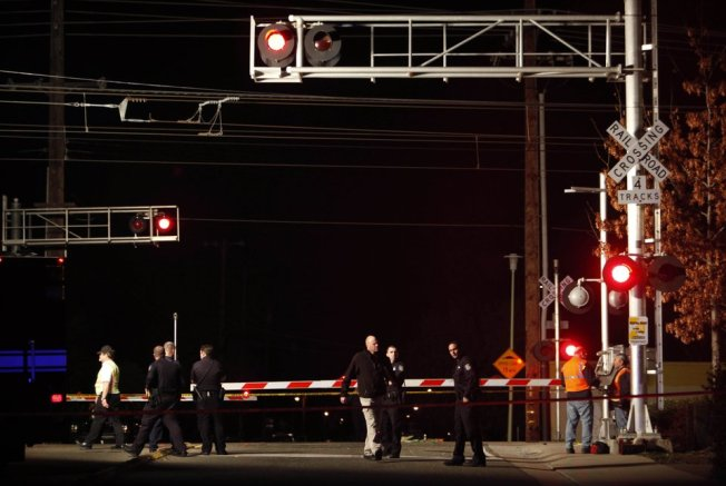 SUV Driver Ignores Crossing Arm, Hit by Train