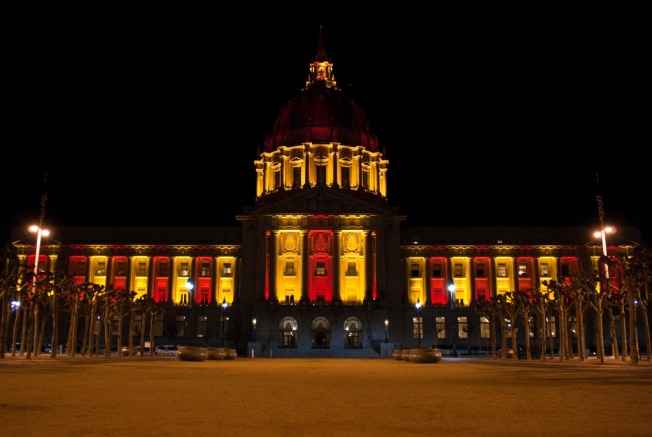 City Icons Show 49er Colors
