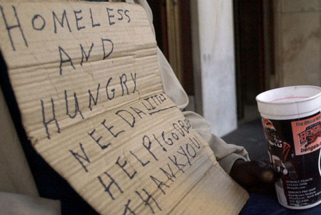 Homeless Population on Rise in San Mateo County