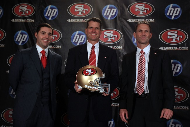 Niners' Baalke, Harbaugh Can Work Together