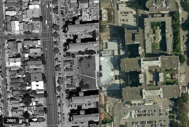 Satellite Images Show How San Francisco Has Changed in the Last 12 Years