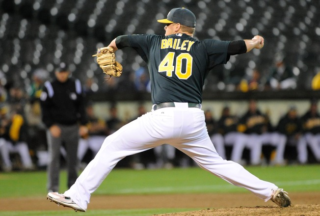 A's Continue Overhaul, Ship Andrew Bailey to Boston Red Sox