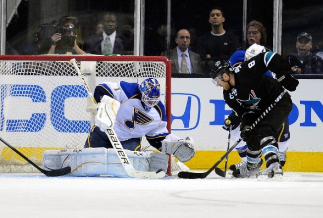 Sharks Down Against Blues