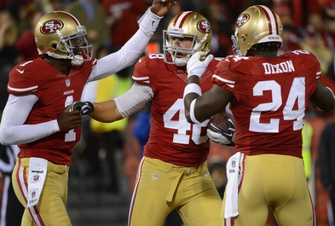 Niners Counting on Dobbs to contribute at three positions in 2012
