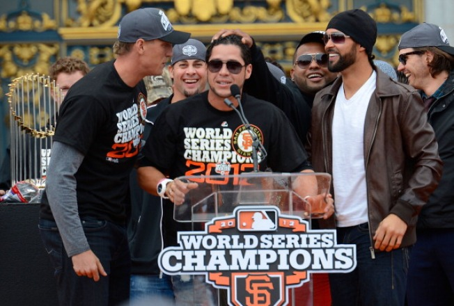 """You Goin' To Jail Now"": Vogelsong Introduces Giants Rally Cry"