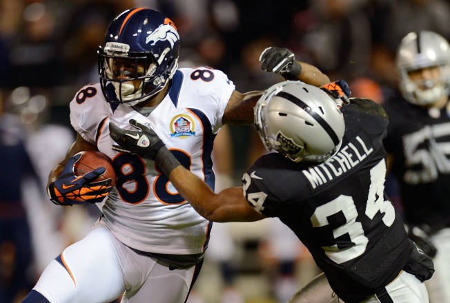 Broncos Extend Raiders Losing Streak to Six