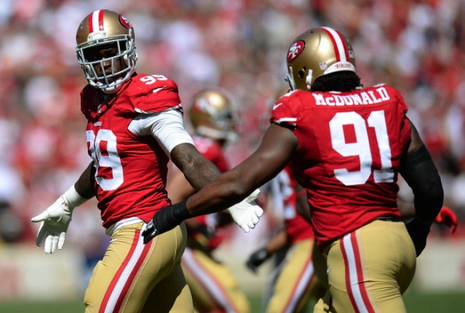 3 Years Parole For Man Who Stabbed 49ers' Aldon Smith