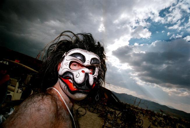 Burning Man Ravers Get a Talking To