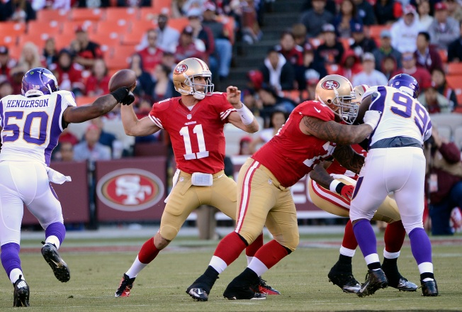 Niners' Protection Issues Not Really a Concern