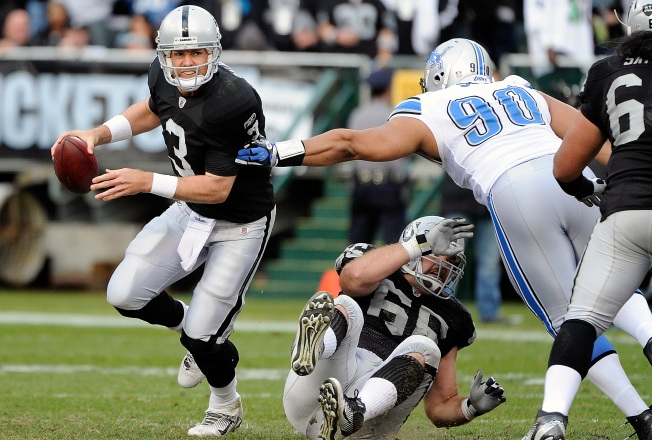 Palmer Says Raiders a 'Playoff Team' in 2012
